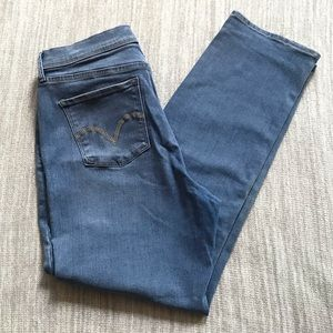 Levi's 512 perfectly slimming  jeans size 33x32